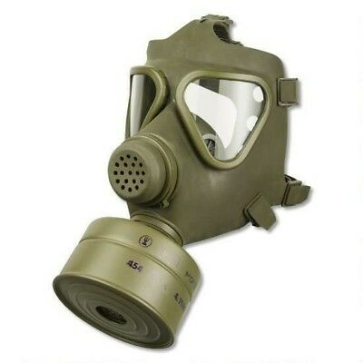 German M65 Gas Mask with Sealed 40mm NBC Filter