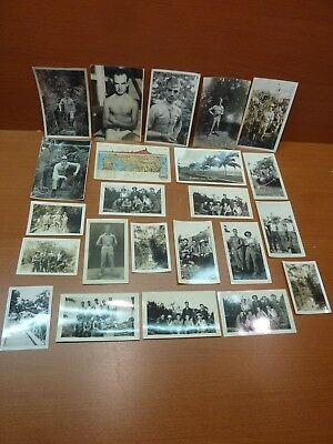 Lot of 23 Vintage World War II Era WW2 Military Photos Pictures Panama Canal