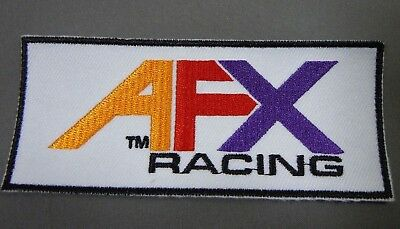 """AFX RACING Iron On Embroidered Shirt-Jacket-Gear Bag Patch 4 1/2"""" *Exclusive*"""