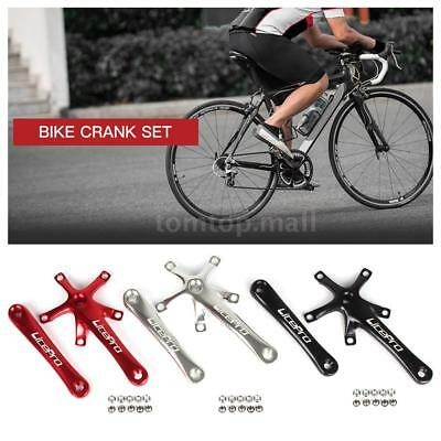 Bike Cycling Bicycle 170MM Crank Arm Set Folding Bike Crank BCD 130MM Five P3J0