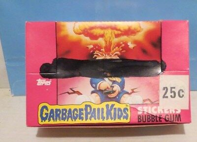CASE FRESH 1985 Topps Garbage Pail Kids Series 1 Sticker Packs Full Box, IRELAND