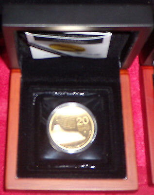 """Israel 1 oz gold coin """"Shrine of the Book"""" (2013), 4th coin in Holy Land series"""