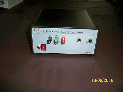 New Focus 0901 Industrial +/-15 Volt Current Limited PSU Power Supply Unit