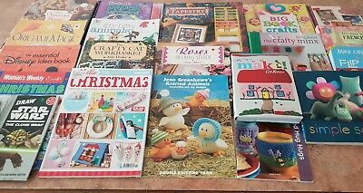 Bulk Lot Of Craft Books - postage available