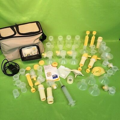 Medela Pump In Style Advanced Double Electric Breast Pump w/ Lots of Accessories