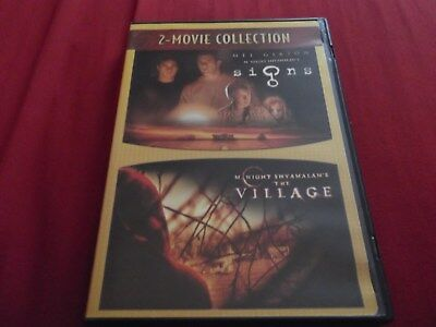 Signs/The Village (DVD, 2007, 2-Movie Collection) 2-discs