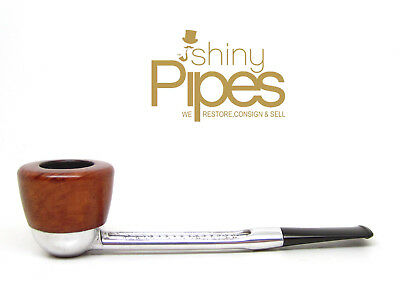 Falcon Retro Aluminum w/ BRIAR BOWL Estate Pipe - x37