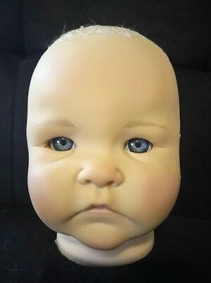 Timo by Didy Jacobsen Baby Doll Parts/ Kit Blue Eyes Lifelike Vinyl  Reborn