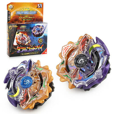 New Beyblade Burst Top Bayblade 4D Toys 2 IN 1 Fusion Metal Blade Bey Blades