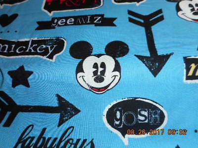 MadieBs Custom  Mickey Mouse Crib or Toddler Bed 3 Piece Sheet Set with Name