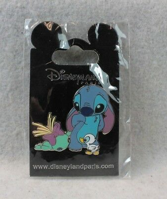 Disney DLP Paris Pin Stitch Sad Ugly Ducking Scrump Open Edition