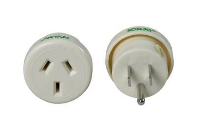 Korjo Travel Adaptor For USA From Australia New Zealand - Fast Shipping from Syd