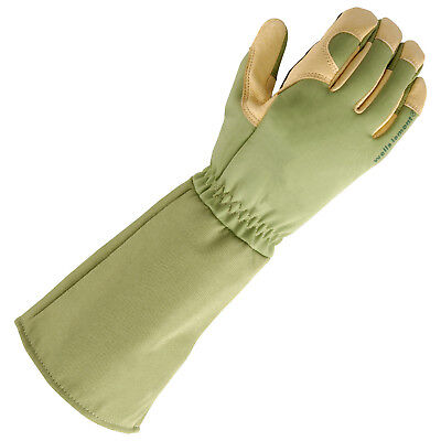 Genuine Wells Lamont RoseTender Pruning Gloves, grain leather palm, good quality