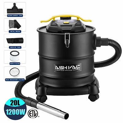 New 10 Amp Ash Vacuum Cleaner Dry Fireplaces Stove BBQ Dust Household w/Blower
