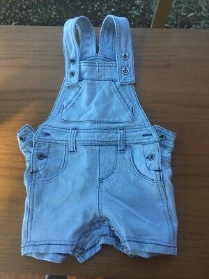 Fox And Finch Baby Overalls