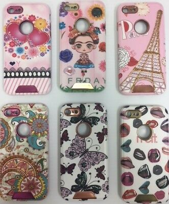 For IPhone X 8 7 Fashion 3D Cute Case hard Cover Design