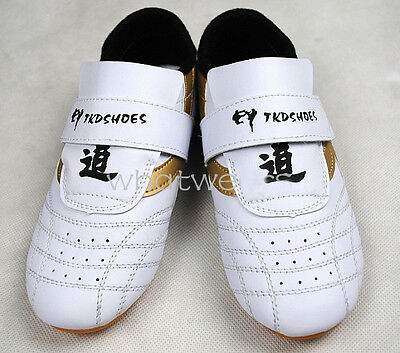 Adult Kids Men Tai Chi Kung Fu Shoes Taekwondo TKD Sneakers Kickboxing Footwear