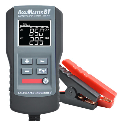 AccuMASTER BT Battery Load Tester
