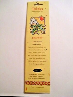 Triloka Original Herbal Patchouli Incense Sticks - Musky
