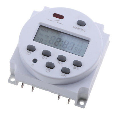 24V DC LCD Digital Programmable Control Power Timer Time Relay Switch hot