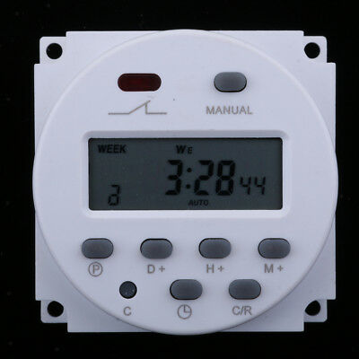 CN101 DC 12V 16A Digital LCD Power Programmable Timer Time Switch Relay