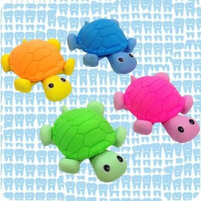 Cute Colorful Turtle Shape Cleansing Rubber Eraser Stationary Kid Gift