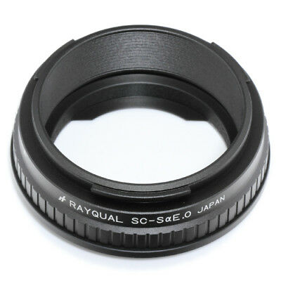 Rayqual Mount Adapter for SONY αE body to Nikon S/CONTAX C Lens made in Japan