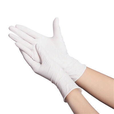 Multipurpose White Nitrile Latex Glove Durable Thicken Disposable Medical Gloves
