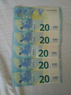 €100 euro notes currency holiday money same day dispatch