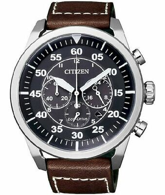 Citizen Herrenuhr Elegant Eco-Drive Chronograph CA4210-16E