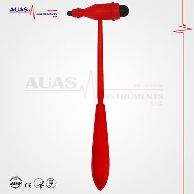 Tromner (Red) Neurological Reflex Hammer, Diagnostic,Surgical,Medical, 23.5 cm