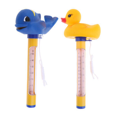 2pcs Floating Swimming Pool Thermometer Set - Pool, Spa