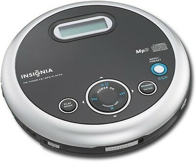 INSIGNIA NS-P5113  Portable CD Player with FM Radio & MP3 Player With Headphones