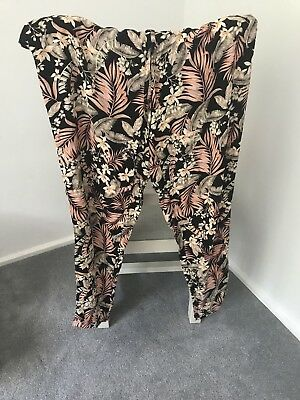 Newlook Maternity Floral Trouser Size 10 brand new with tags