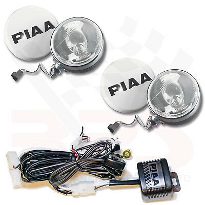 PIAA 80 XT Series Rally Driving Lamps Kit | H3 55W = 110 W