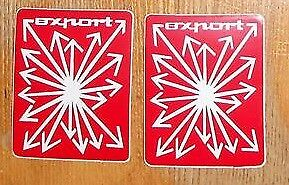 Innocenti Export Stemmi badge logo laterale Mini Cooper 1300
