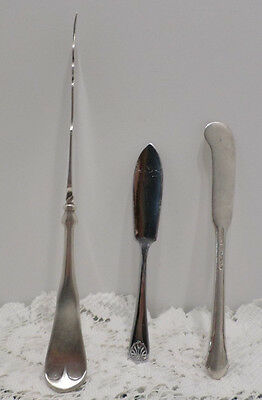 Vintage Butter Knives Silverplated
