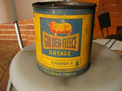 Golden Fleece Cinemascope 5 lb Grease tin highly collectable item