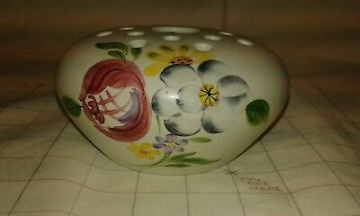 Radford Pottery Pot Pourri / Posy Vase Hand Painted.