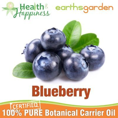 BLUEBERRY SEED OIL ~ earthsgarden Certified 100% Pure Botanical Carrier Oil