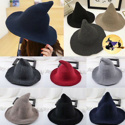 2018 Witch Pointed Spires Along The Wool Hat Autumn And Winter Hat Knitting New