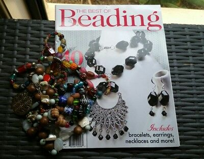 The Best Of Beading Magazine No2+Pile Of Beads