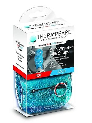 Therapearl Shin Wrap Hot & Cold Therapy Injury Rehabilitation Ice or Heat Pack