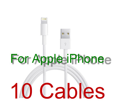 New USB  Lightning Data Cable Charger for i Phone 7 7 Plus 6 5S 5C 6S iPad