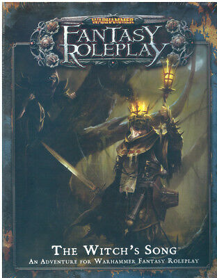 Warhammer Fantasy Roleplay The witch's song adventure Fantasy Flight new