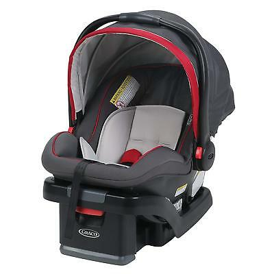 OpenBox, Graco SnugRide SnugLock 35 Infant Car Seat with adjustable base, Chi...