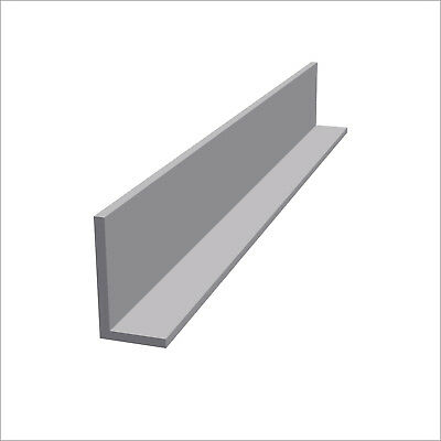 Aluminium Angle Various Sizes  2000 mm Length - Free - NEXT DAY DELIVERY !