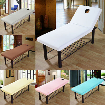 Reusable Massage SPA Beauty Salon Bed Table Cover Sheets with Hole 190x80cm
