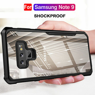 Shockproof Silicone Bumper Case for Samsung Galaxy Note 9 Hybrid Clear Cover