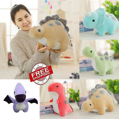 Cute Cartoon Animal Dinosaur Plush Toy Stuffed Dolls Home Car Throw Pillows